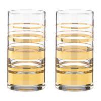 kate spade new york Hampton Street™ Highball Glass (Set of 2)