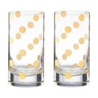 kate spade new york Pearl Place™ Highball Glass (Set of 2)