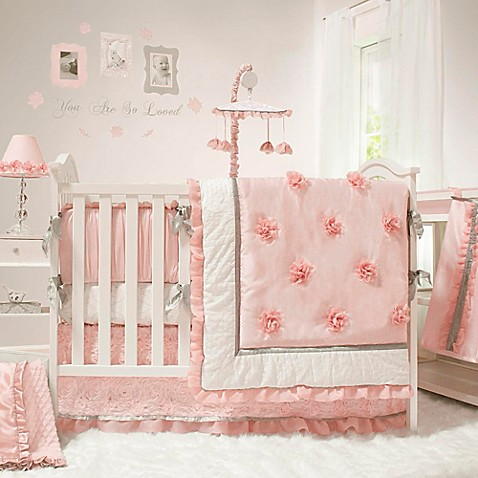 The Peanut Shell 174 Arianna Crib Bedding Collection Bed