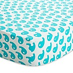 Baby Deedee® Fitted Crib Sheet in Dream Blue