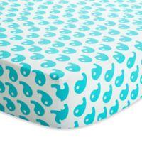 Baby Deedee® Fitted Crib Sheet in Dream Blue