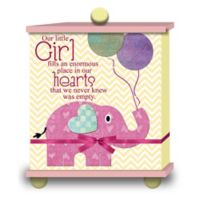 "Imagine Design ""Our Little Girl..."" Memory Box in Pink"