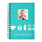 Pearhead  Baby's Daily Logbook  in Blue
