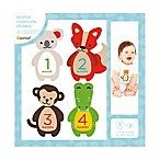 Pearhead Felt Animal Milestone Belly Stickers