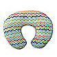 Boppy® Infant Feeding/Support Pillow with Colorful Chevron Slipcover