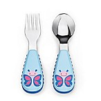 SKIP*HOP® Zootensils Little Kid Fork & Spoon in Butterfly