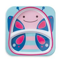 SKIP*HOP® Zoo Divided Plate in Butterfly