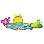 Banzai Splish Splash Inflatable Safari Park Pool with Canopy
