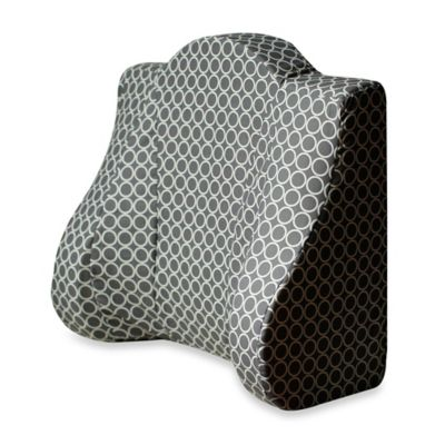 back buddy support pillow in grey