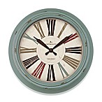 FirsTime® Relic Wall Clock in Teal