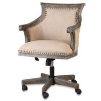 Uttermost Kimalina Accent Chair in Beige