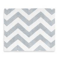 Sweet Jojo Designs Chevron Rug in Grey/White