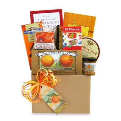 California Dreaming Gourmet Gift Basket