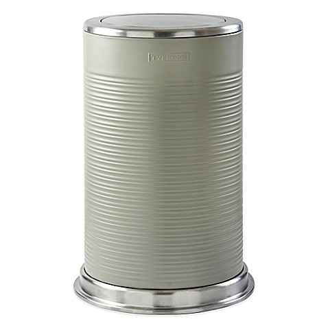 typhoon® ripple 10.5-gallon trash can - bed bath & beyond