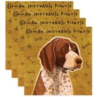 """Thirstystone® """"German Shorthaired Pointer"""" Coasters (Set of 4)"""