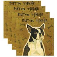 "Thirstystone® ""Boston Terrier"" Coasters (Set of 4)"