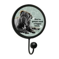 """Thirstystone """"Stronger Leash"""" Leash Hook in Black"""