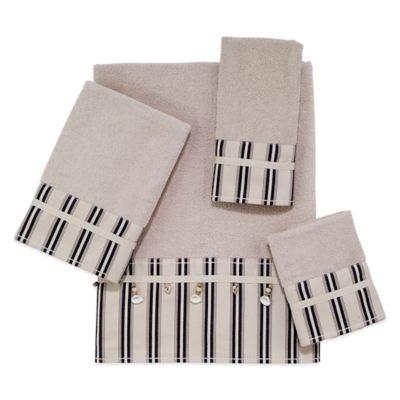 Avanti Bar Harbor Fingertip Towel