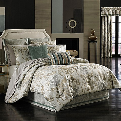 J queen new york seville comforter set bed bath beyond - Bed bath and beyond bedroom furniture ...
