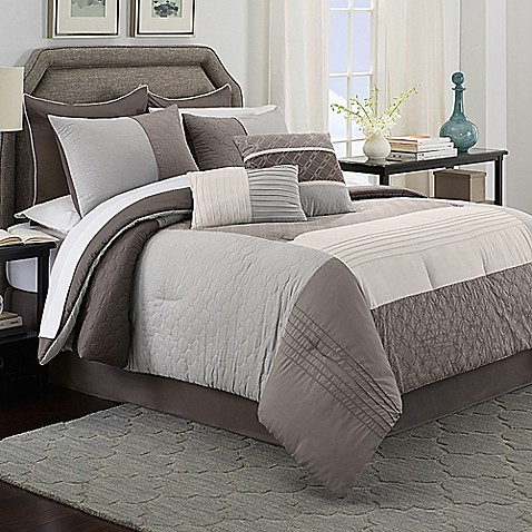 Cortez 8 Piece Comforter Set Bed Bath Amp Beyond