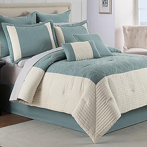 Hathaway 8 Piece Comforter Set Bed Bath Beyond