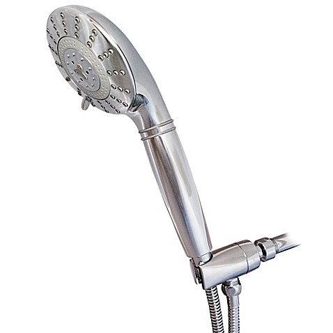 sprite 7 spray filtered handheld showerhead in chrome bed bath beyond. Black Bedroom Furniture Sets. Home Design Ideas