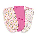 SwaddleMe® Large 3-Pack Adjustable Blankets in Hoot I'm Cute