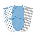 SwaddleMe® Small/Medium 3-Pack Adjustable Blankets in Stars and Stripes