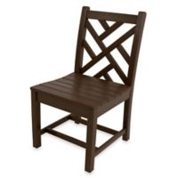 POLYWOOD® Chippendale Dining Side Chair in Mahogany