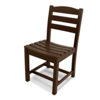 POLYWOOD® La Casa Dining Side Chair in Mahogany
