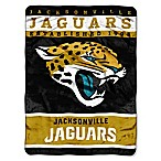 NFL Jacksonville Jaguars Strike Raschel Oversized Throw Blanket