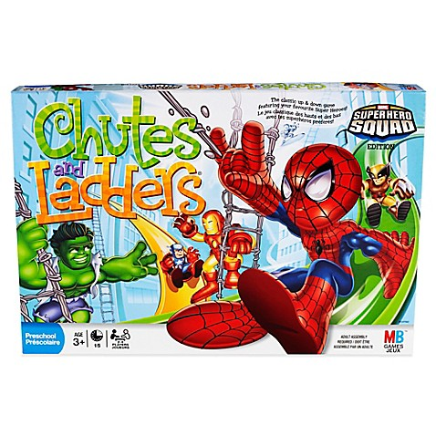 Chutes And Ladders Super Hero Squad Bed Bath Beyond