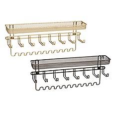 Wall Hanging Jewelry Organizer interdesign® classico wall mount jewelry organizer - bed bath & beyond