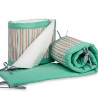 Pam Grace Creations Friendly Fox 4-Piece Crib Bumper Set