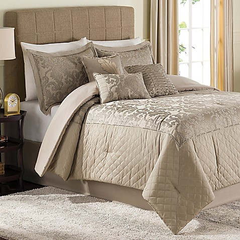 Jeneve 7 Piece Comforter Set Bed Bath Amp Beyond