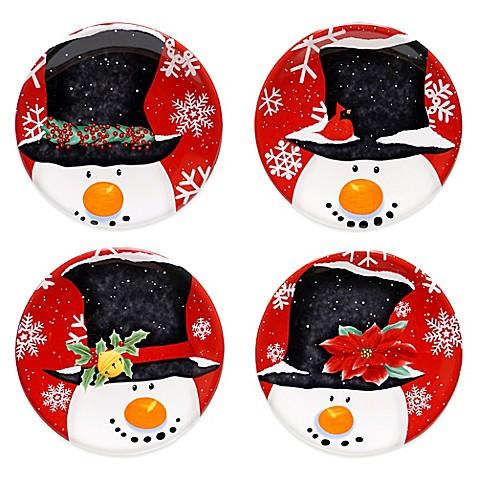 buy certified top hat snowman assorted 4