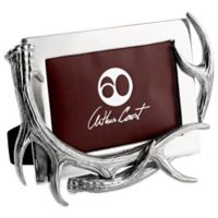 Arthur Court Designs Antler 5-Inch x 7-Inch Picture Frame