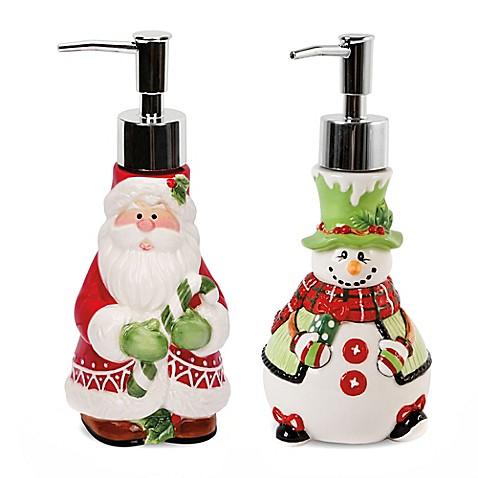 Soap Dispenser Bed Bath And Beyond Santa