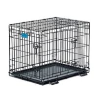 Midwest Life Stages 1630DD 2-Door Fold-and-Carry Crate with Divider