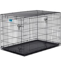 Midwest Life Stages 1648DD 2-Door Fold-and-Carry Crate with Divider