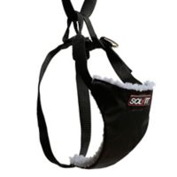 Solvit Large Economy Car Safety Dog Harness in Black