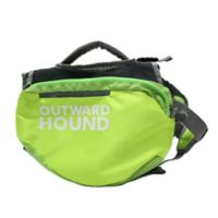 Outward Hound® Small Quick Release Dog Backpack in Green
