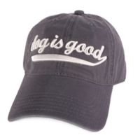 """Dog is Good"" Baseball Hat"