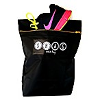 Shag 2-Pack Shoe Bag in Black