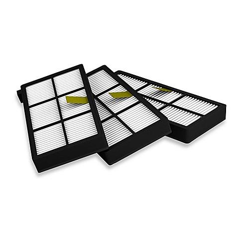 irobot 174 roomba 174 3 pack 800 900 series aeroforce 174 filters