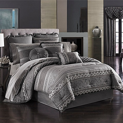 j queen new york amalfi comforter set - J Queen New York Bedding