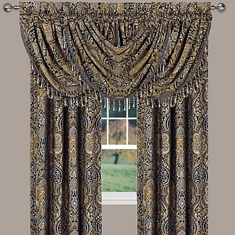 J Queen New York Venezia Window Curtain Panel And