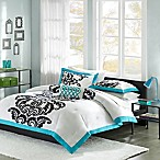 Mizone Florentine Twin/Twin XL Comforter Set in Teal