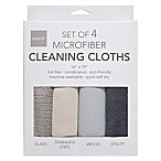 Microfiber Utility Towels (Set of 4)