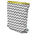 Planet Wise Medium Wet Bag in Grey Chevron